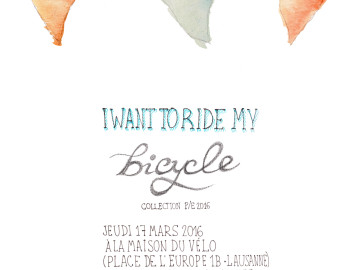 I want to ride my bicycle, 2016
