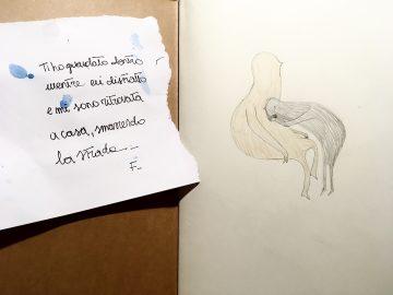 Private sketch; Lost & Found, 2019